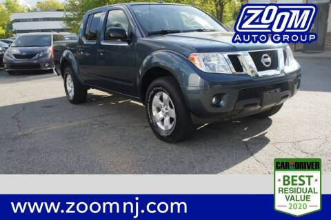 2013 Nissan Frontier for sale at Zoom Auto Group in Parsippany NJ