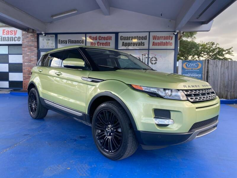 2012 Land Rover Range Rover Evoque for sale at ELITE AUTO WORLD in Fort Lauderdale FL