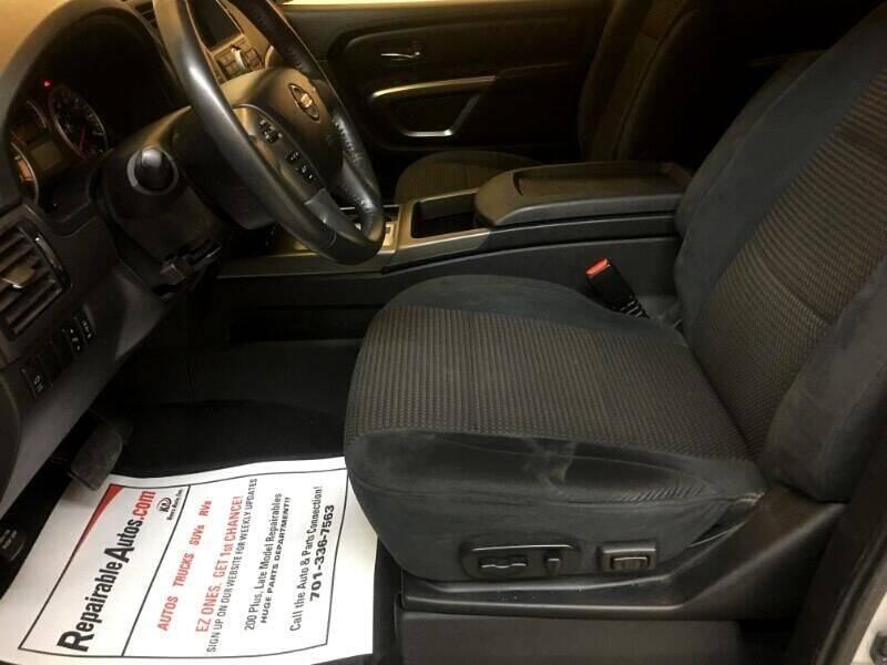 2015 Nissan Armada 4WD 4dr Platinum Edition - Strasburg ND