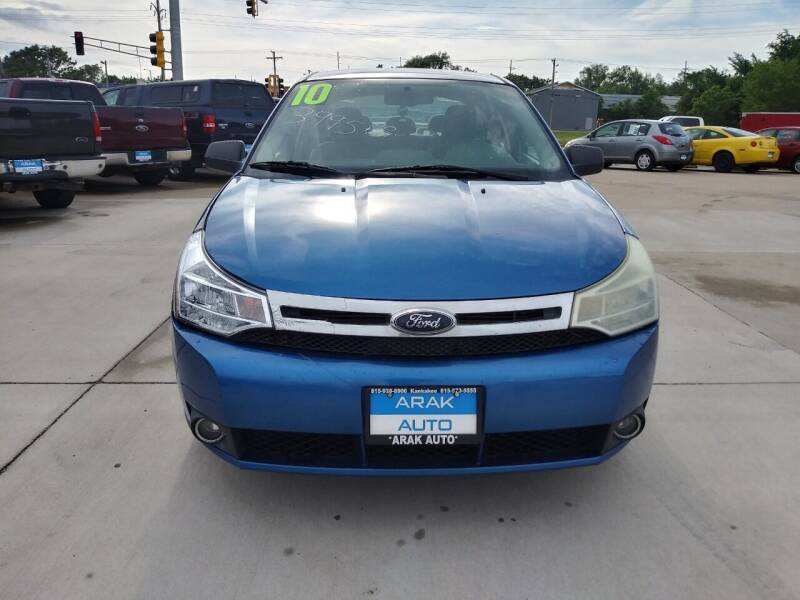 2010 Ford Focus for sale at Arak Auto Group in Bourbonnais IL