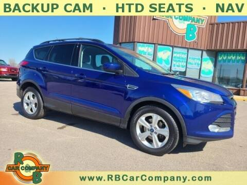 2016 Ford Escape for sale at R & B Car Co in Warsaw IN