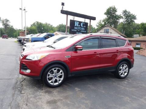 2014 Ford Escape for sale at R C Motors in Lunenburg MA