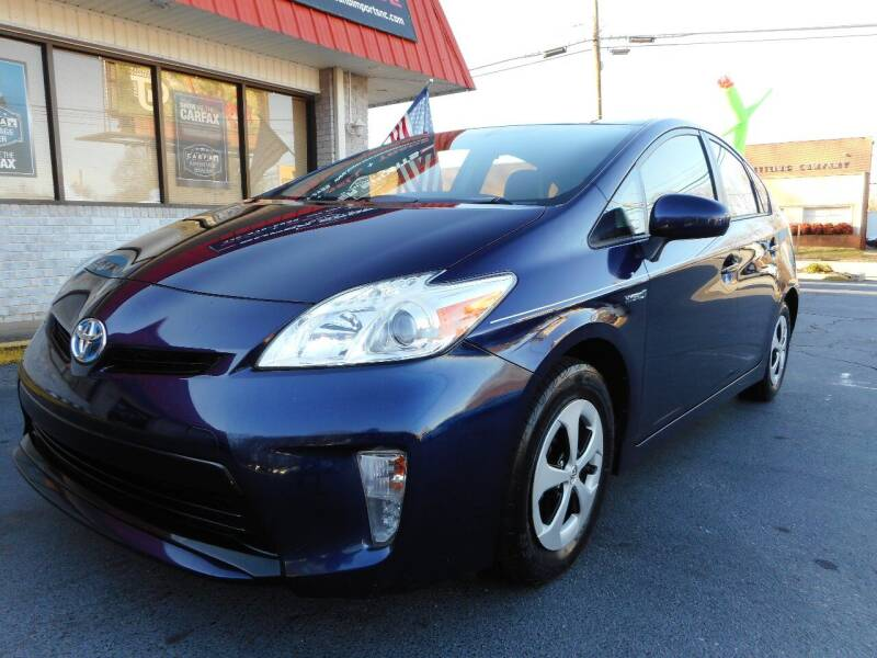 2014 Toyota Prius for sale at Super Sports & Imports in Jonesville NC
