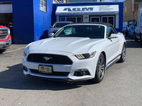 2017 Ford Mustang for sale at AGM AUTO SALES in Malden MA