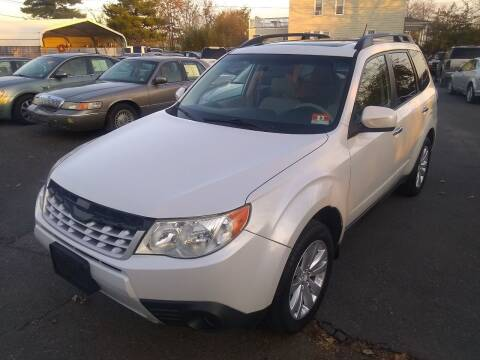 2011 Subaru Forester for sale at Wilson Investments LLC in Ewing NJ