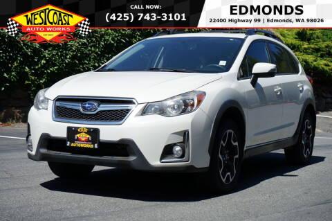 2016 Subaru Crosstrek for sale at West Coast Auto Works in Edmonds WA
