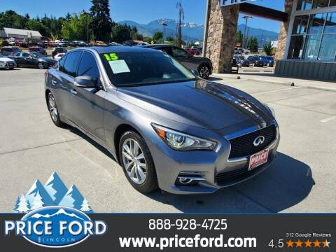 2015 Infiniti Q50 Hybrid for sale at Price Ford Lincoln in Port Angeles WA
