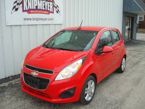 2014 Chevrolet Spark for sale at Team Knipmeyer in Beardstown IL