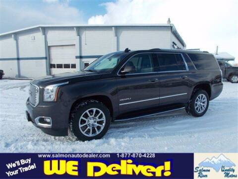 2016 GMC Yukon XL for sale at QUALITY MOTORS in Salmon ID