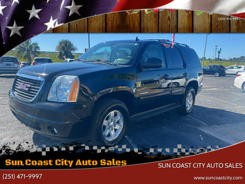 2013 GMC Yukon for sale at Sun Coast City Auto Sales in Mobile AL