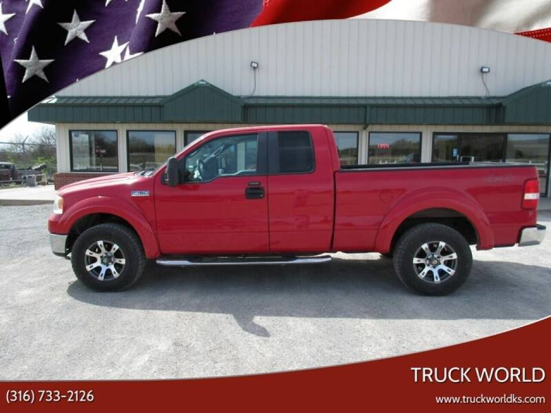 2007 Ford F-150 for sale at Truck World in Augusta KS