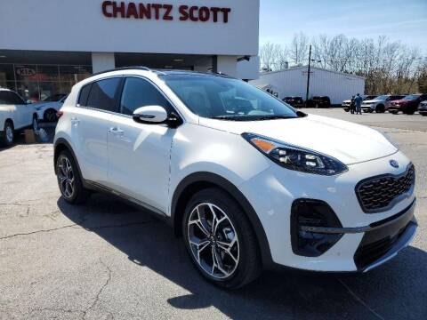 2021 Kia Sportage for sale at Chantz Scott Kia in Kingsport TN