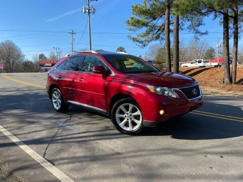 2012 Lexus RX 350 for sale at THE AUTO FINDERS in Durham NC