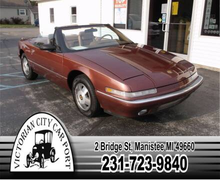 1990 Buick Reatta for sale at Victorian City Car Port INC in Manistee MI