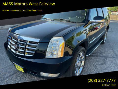 2008 Cadillac Escalade ESV for sale at MASS Motors West Fairview in Boise ID