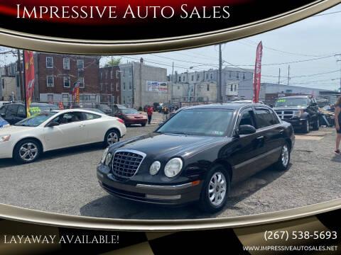 2005 Kia Amanti for sale at Impressive Auto Sales in Philadelphia PA
