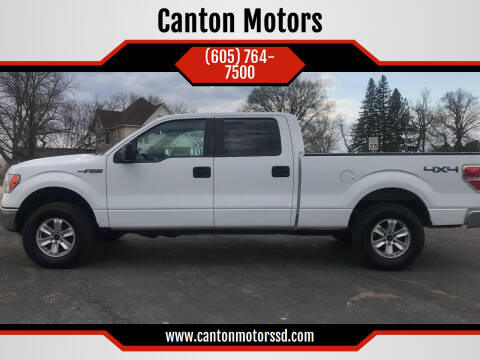 2014 Ford F-150 for sale at Canton Motors in Canton SD