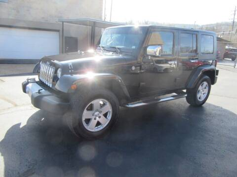 2010 Jeep Wrangler Unlimited for sale at Riverside Motor Company in Fenton MO