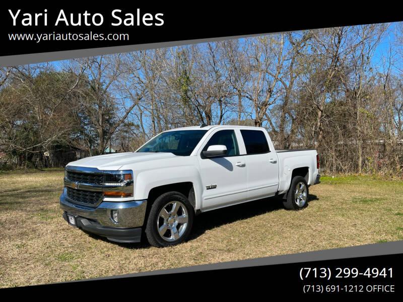 2017 Chevrolet Silverado 1500 for sale at Yari Auto Sales in Houston TX