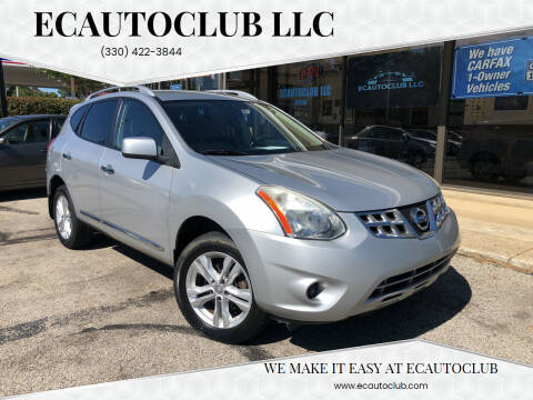 2012 Nissan Rogue for sale at ECAUTOCLUB LLC in Kent OH