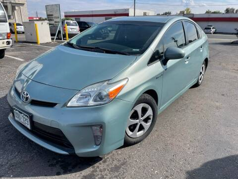 2015 Toyota Prius for sale at Zapp Motors in Englewood CO