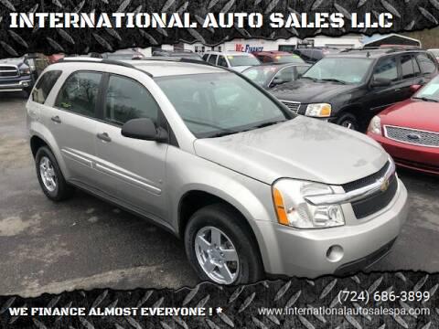 2007 Chevrolet Equinox for sale at INTERNATIONAL AUTO SALES LLC in Latrobe PA