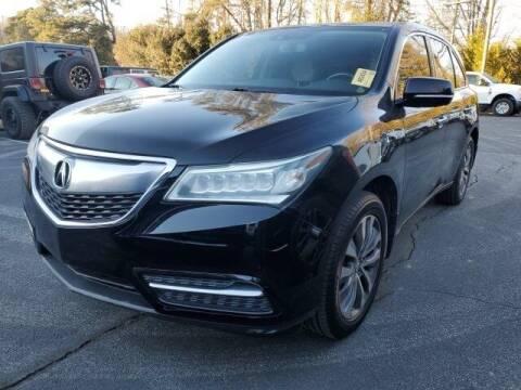 2014 Acura MDX for sale at Impex Auto Sales in Greensboro NC
