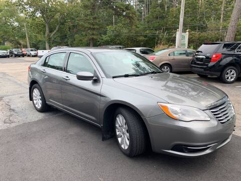 2012 Chrysler 200 for sale at MBM Auto Sales and Service - MBM Auto Sales/Lot B in Hyannis MA
