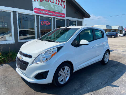 2015 Chevrolet Spark for sale at Martins Auto Sales in Shelbyville KY