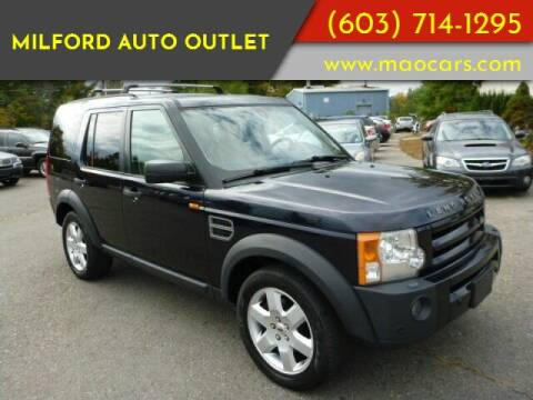 2007 Land Rover LR3 for sale at Milford Auto Outlet in Milford NH