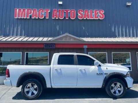2017 RAM Ram Pickup 1500 for sale at Impact Auto Sales in Wenatchee WA