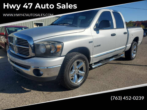 2008 Dodge Ram Pickup 1500 for sale at Hwy 47 Auto Sales in Saint Francis MN