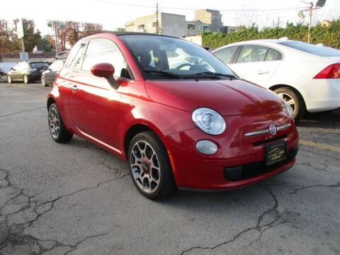 2013 FIAT 500c for sale at I C Used Cars in Van Nuys CA