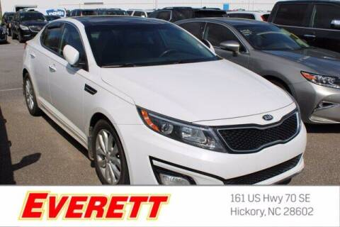 2015 Kia Optima for sale at Everett Chevrolet Buick GMC in Hickory NC