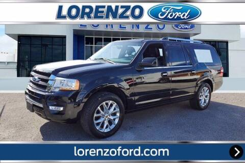 2017 Ford Expedition EL for sale at Lorenzo Ford in Homestead FL