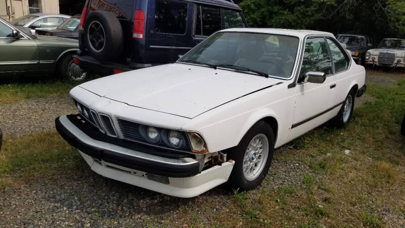 1985 BMW 6 Series for sale at PRESTIGE MOTORS in Fredericksburg VA