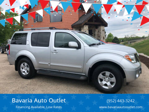 2007 Nissan Pathfinder for sale at Bavaria Auto Outlet in Victoria MN