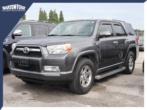 2010 Toyota 4Runner for sale at BARTOW FORD CO. in Bartow FL