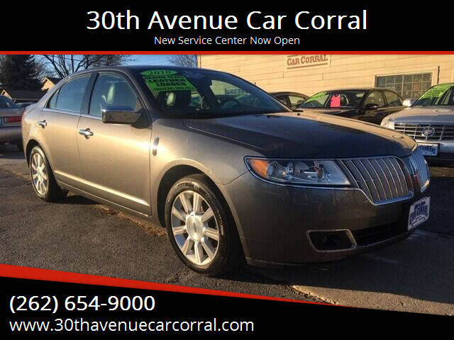 2010 Lincoln MKZ for sale at 30th Avenue Car Corral in Kenosha WI