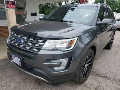 2016 Ford Explorer for sale at New Wheels in Glendale Heights IL