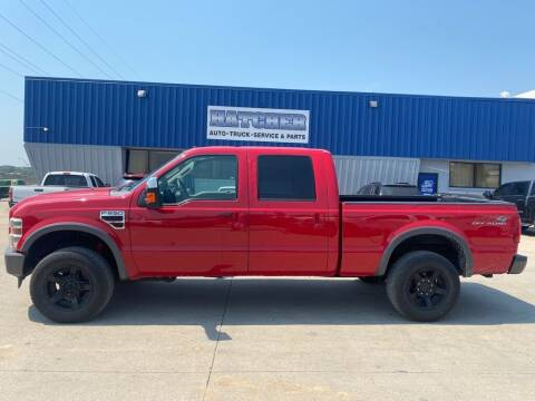 2008 Ford F-250 Super Duty for sale at HATCHER MOBILE SERVICES & SALES in Omaha NE