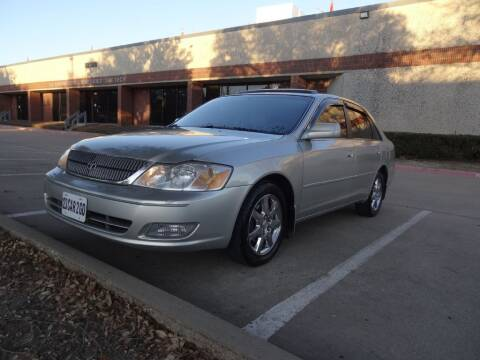 2001 Toyota Avalon for sale at 123 Car 2 Go LLC in Dallas TX