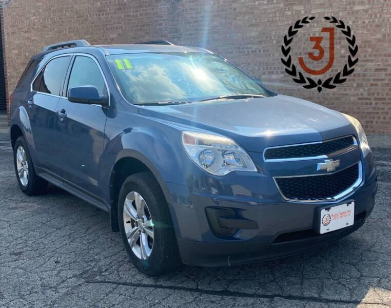 2011 Chevrolet Equinox for sale at 3 J Auto Sales Inc in Arlington Heights IL