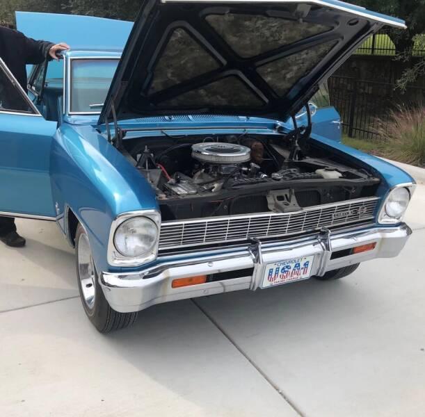 1966 Chevrolet Nova for sale at Iconic Motors of Oklahoma City, LLC in Oklahoma City OK