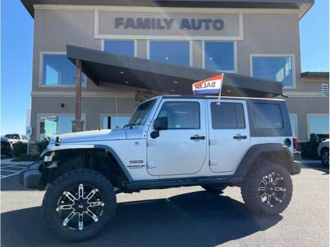 2010 Jeep Wrangler Unlimited for sale at Moses Lake Family Auto Center in Moses Lake WA