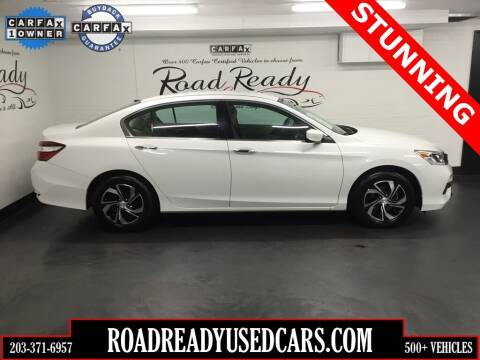 2017 Honda Accord for sale at Road Ready Used Cars in Ansonia CT