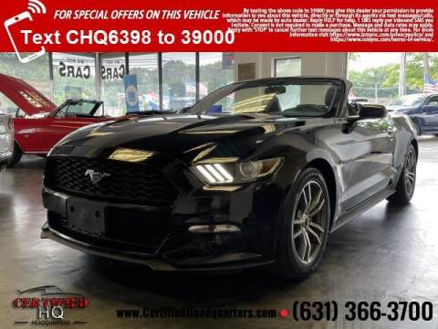2015 Ford Mustang for sale at CERTIFIED HEADQUARTERS in Saint James NY