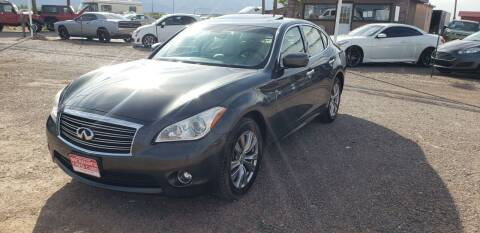 2013 Infiniti M37 for sale at Bickham Used Cars in Alamogordo NM