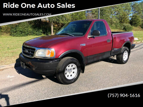 1999 Ford F-150 for sale at Ride One Auto Sales in Norfolk VA