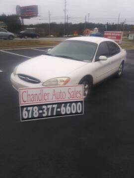 2001 Ford Taurus for sale at Chandler Auto Sales - ABC Rent A Car in Lawrenceville GA